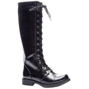 NEW CHINESE LAUNDRY ROSET VEGAN LACE-UP BOOTS